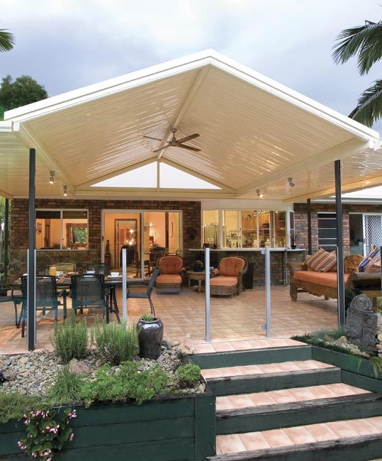 Gable Stratco Outback Pitched Roof