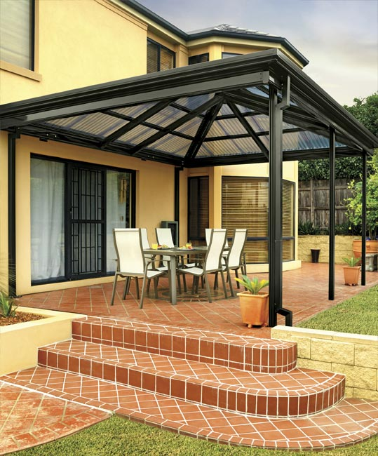 Gazebo Stratco Outback Roof Design