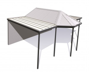 Gazebo Stratco Outback from Stronglife Patios and Carports