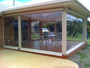 pergola blinds add living space