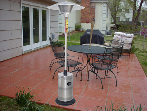 free gas patio heater